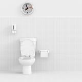 3d toilet. Stock Photos