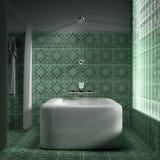 3d toilet. Stock Images