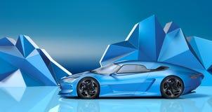 3D tolkning - generisk begreppsbil Arkivbilder