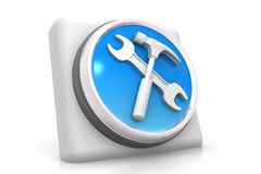 3d tools icon Stock Images