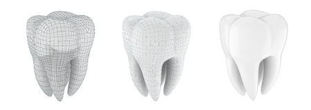 3d tooth Royalty Free Stock Photography