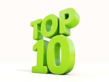 3d Top Stock Image