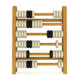 3d toy abacus Stock Image