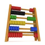 3d toy abacus Royalty Free Stock Photography