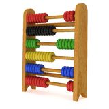 3d toy abacus Royalty Free Stock Images