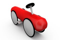 3d toy car concept Stock Photography