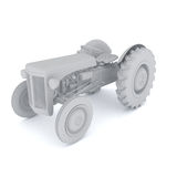 3d Tractor Royalty Free Stock Photos