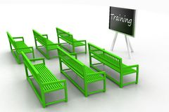 3d Training room Royalty Free Stock Photo