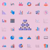 3D Tree icon. Charts & Diagramms icons universal set for web and mobile. 3D Tree icon. Charts Diagramms icons universal set for web and mobile on white vector illustration