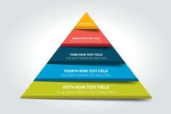 3d triângulo infographic, carta, esquema, diagrama, tabela, programação, elemento Fotos de Stock