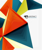 3d triangle polygonal abstract vector. Creative modern abstract background for text, presentation wallpaper vector illustration
