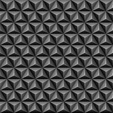 3d triangle seamless pattern Stock Photos
