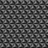 3d triangle seamless pattern Stock Photos