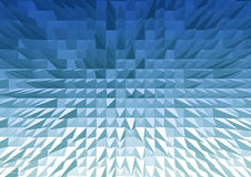3D triangle texture pattern color background Royalty Free Stock Image