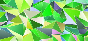 3d Triangles, abstract background. Design wallpaper. Triangles, abstract background. Design wallpaper vector illustration