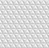 3d triangles seamless pattern ornament Stock Photo