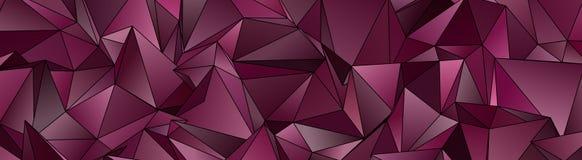 3d triangular, fondo moderno Fotos de archivo