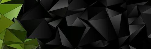 3d triangular, fondo moderno Fotografía de archivo libre de regalías