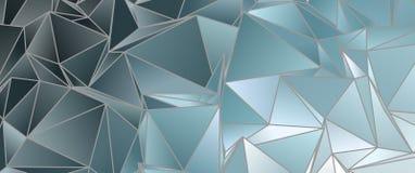 3d triangular, fondo moderno Foto de archivo