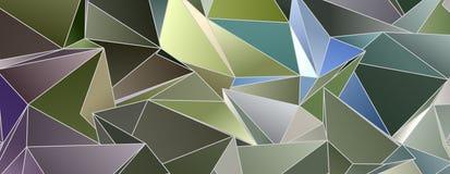 3d triangular, fondo moderno Foto de archivo libre de regalías