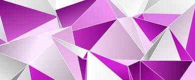 3d triangular, fondo moderno Imágenes de archivo libres de regalías