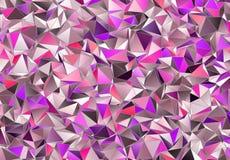 3d triangular, fondo moderno Imagen de archivo