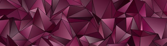 3d triangular, fundo moderno Fotos de Stock