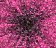 3d triangular, fundo moderno Foto de Stock