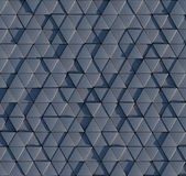 3D triangular prism pattern Royalty Free Stock Photos