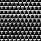 3D triangular pyramid pattern Royalty Free Stock Photos