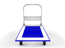 3d trolley Royalty Free Stock Image