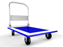 3d trolley Stock Photography