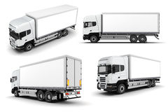3d trucks Royalty Free Stock Image