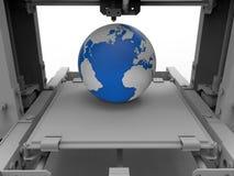 3D trwałości drukowy pojęcie Zdjęcie Royalty Free