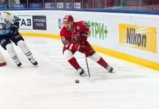 D. Tsyganov (10) in attack Royalty Free Stock Photos