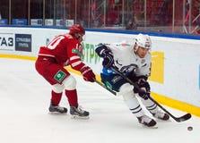 D. Tsyganov (10) vs M. Popovic (6) Stock Photo