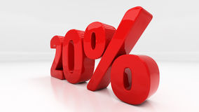 3D twenty percent Royalty Free Stock Image