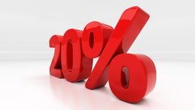 3D twenty percent Royalty Free Stock Image