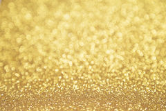 D'or Twinkly photos stock