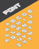 3d type font Royalty Free Stock Photo