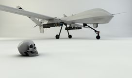 3D UAV Stock Photography