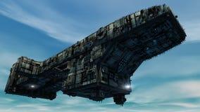 3d UFO Stock Fotografie