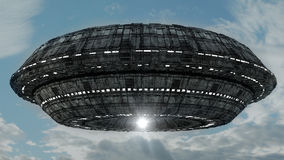 3d UFO Royalty Free Stock Image