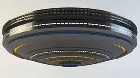 3d UFO. 3d design of a UFO Stock Images