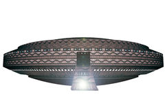 3d UFO. 3d design of a UFO Royalty Free Stock Photo