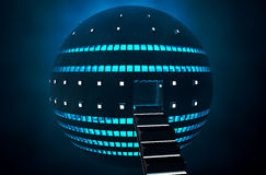 3d UFO Royalty Free Stock Images