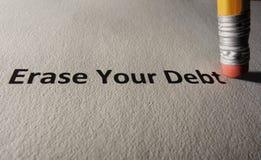 Długów problemy Zdjęcia Royalty Free