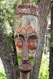 Długa afrykanin maska Zdjęcie Stock