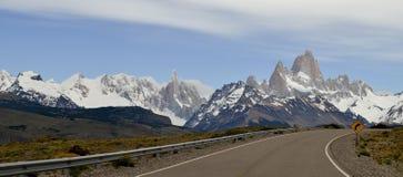 DŁUGA DROGA, lodowiec I GLOBALNY nagrzanie PERITO MORENO W EL CALAFATE PATAGONIA ARGENTYNA, zdjęcia royalty free