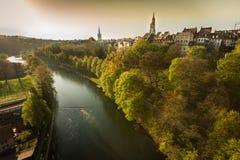 Długa rzeka Obrazy Stock